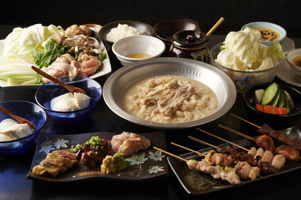 とりいちず酒場 市川北口店の鶏料理が満喫できるコース