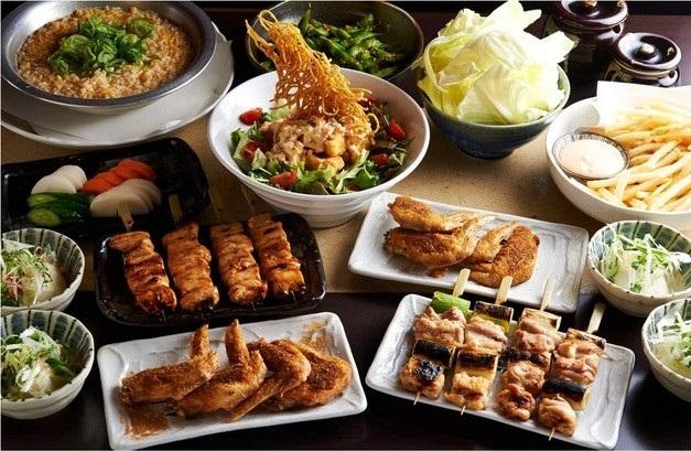 とりいちず酒場 市川北口店の食べ飲み放題コース